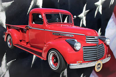 Photograph - 1946 Gmc Pickup Truck 5514 .03 by M K Miller