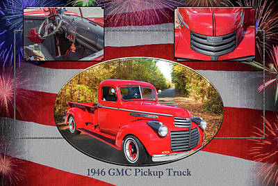 Photograph - 1946 Gmc Pickup Truck 5514 .05 by M K Miller