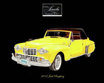 1946 Lincoln Continental Cabriolet Original