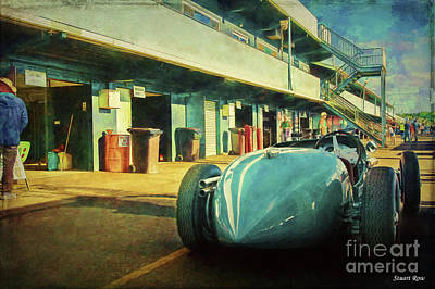 Photograph - 1946 Maybach Special Mk 1 by Stuart Row