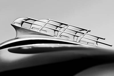 Photograph - 1946 Plymouth Hood Ornament 2 by Jill Reger