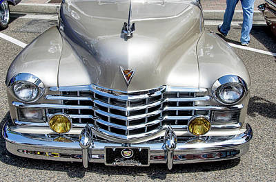 Photograph - 1947 Cadillac by David Lawson