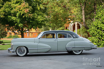 Automotive Art Series Wall Art - Photograph - 1947 Cadillac Series 60 Sedan by Dave Koontz