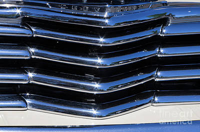 Photograph - 1947 Chevy Fleetline Aero Grill by Rick Bures