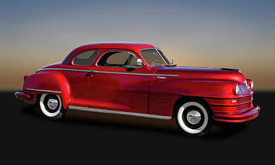 Photograph - 1947 Chrysler Windsor Coupe  -  47chrwind9638 by Frank J Benz