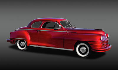 Photograph - 1947 Chrysler Windsor Coupe  -  47chrwinfa9638 by Frank J Benz