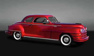 Photograph - 1947 Chrysler Windsor Coupe  -  47chrwingry9638 by Frank J Benz