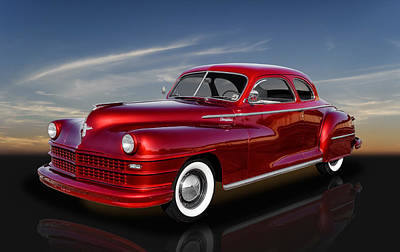 Photograph - 1947 Chrysler Windsor Coupe by Frank J Benz