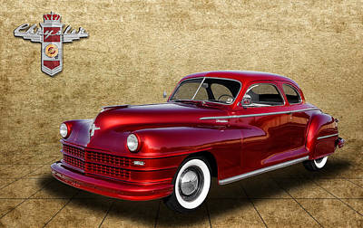 Photograph - 1947 Chrysler Windsor by Frank J Benz
