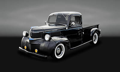 Photograph - 1947 Dodge Brothers Job Rated Pickup Truck  -  47dgebrtrk220 by Frank J Benz