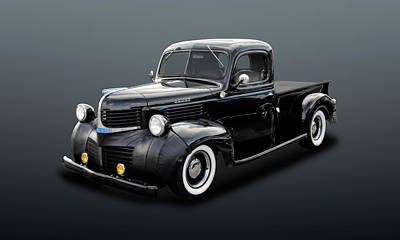 Photograph - 1947 Dodge Brothers Job Rated Pickup Truck  -  47dgetrk320 by Frank J Benz
