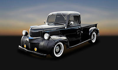 Photograph - 1947 Dodge Brothers Job Rated Pickup Truck  -   47dodgebrtrk120 by Frank J Benz