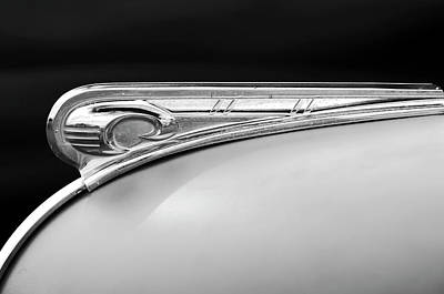 Photograph - 1947 Dodge Gi Joe Hood Ornament 2 by Jill Reger