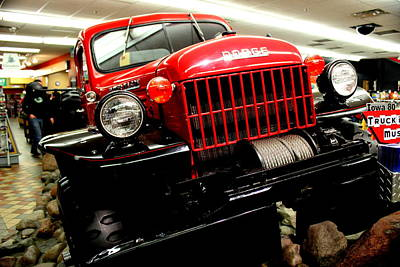 1947 Dodge Truck Photograph - 1947 Dodge Pick-up By Earl's Photography by Earl  Eells a