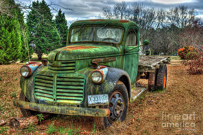 Photograph - 1947 Gmc Truck 2 General Motors Truck Art by Reid Callaway