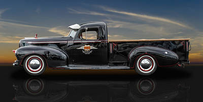 Photograph - 1947 Hudson Big Boy Pickup by Frank J Benz