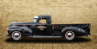 Photograph - 1947 Hudson Pickup Truck by Frank J Benz