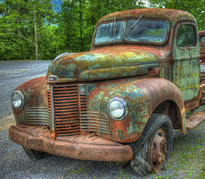 Photograph - 1947 International Harvester Company Truck by Reid Callaway