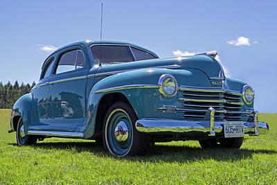 Photograph - 1947 Plymouth Special Deluxe by Inge Riis McDonald