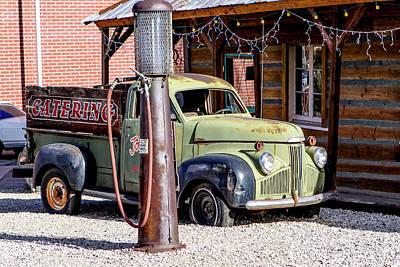 1947 Studebaker M-5 Pickup Truck Art Print