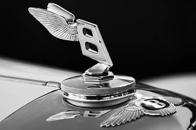 1948 Bentley Hood Ornament 3 Art Print by Jill Reger