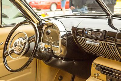 Photograph - 1948 Cadillac Sedan Classic Car Photograph 5718.02 by M K Miller