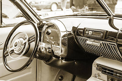 Photograph - 1948 Cadillac Sedan Classic Car Photograph 6718.01 by M K Miller