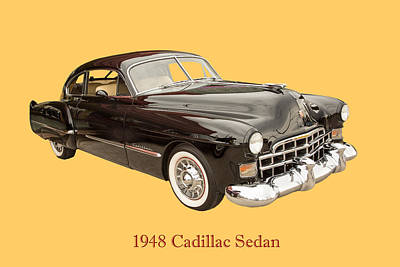 Photograph - 1948 Cadillac Sedan Classic Car Photograph 6722.02 by M K Miller