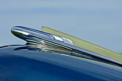 1948 Chevrolet Fleetline Hood Ornament Print by Jill Reger