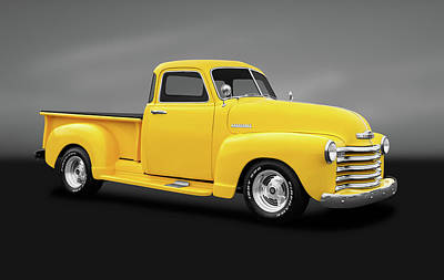 Photograph - 1948 Chevrolet Pickup Truck   -  1948chevypickuptruckgry184131 by Frank J Benz