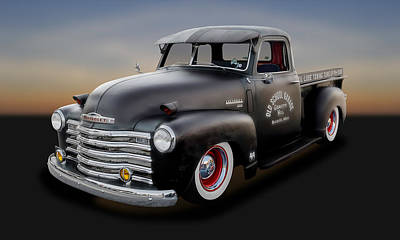 Photograph - 1948 Chevrolet Pickup Truck   -   1948chtrk600 by Frank J Benz