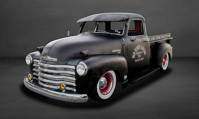 Photograph - 1948 Chevrolet Pickup Truck  -  48chtrk800 by Frank J Benz