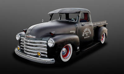 Photograph - 1948 Chevrolet Pickup Truck  -  48chtruck700 by Frank J Benz