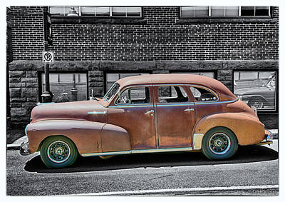 Digital Art - 1948 Chevrolet Stylemaster by Ken Morris