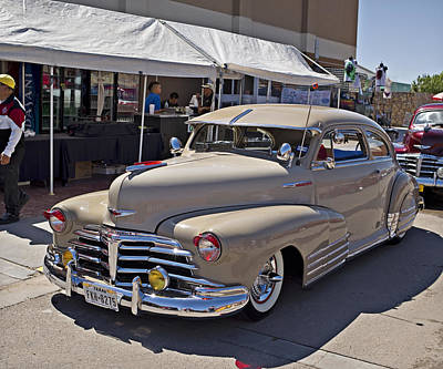 Photograph - 1948 Chevy Fleetline_1a by Walter Herrit