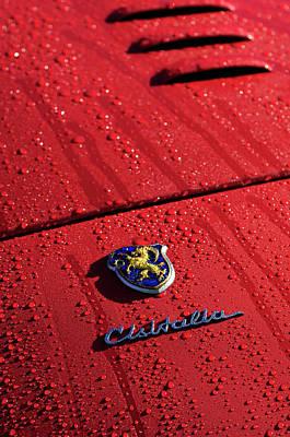 Photograph - 1948 Cisitalia 202 Smm Nuvolari Spider Emblem by Jill Reger