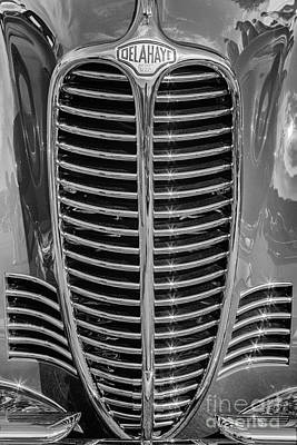 Photograph - 1948 Delahaye by Dennis Hedberg