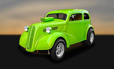 Photograph - 1948 Ford Anglia Sedan   -   48fdang750 by Frank J Benz