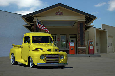 Photograph - 1948 Ford F1 Pickup Truck by TeeMack