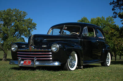 Photograph - 1948 Ford Sedan Street Rod by Tim McCullough