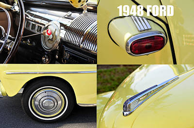 Photograph - 1948 Ford W Text by David Lee Thompson