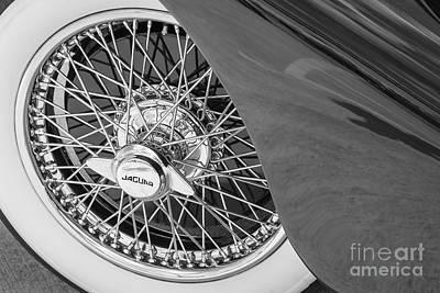 Wire Wheels Photograph - 1948 Jaguar Mark4 by Dennis Hedberg