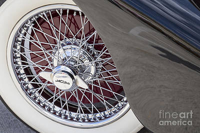 Photograph - 1948 Jaguar Wire Wheel by Dennis Hedberg