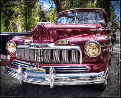Photograph - 1948 Mercury Convertible by Thom Zehrfeld