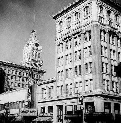 Photograph - 1948 Oakland California by Historic Image