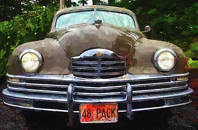 Photograph - 1948 Packard Super 8 Touring Sedan by Thom Zehrfeld