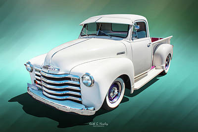 Photograph - 1948 Pickup by Keith Hawley
