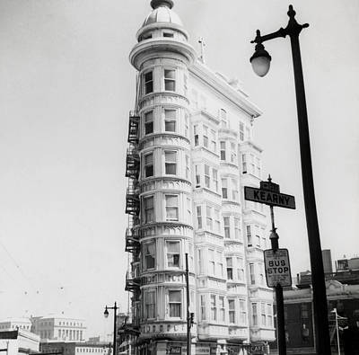 Photograph - 1948 The Sentinel Building San Francisco by Historic Image