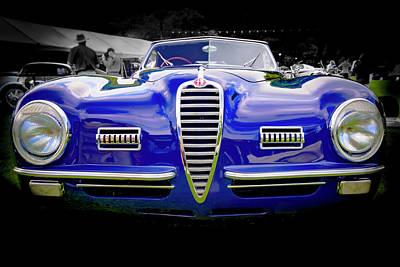 1949 Alfa Romeo 6c25 Swb Cabriolet 6c25 Swb Cabriolet Art Print