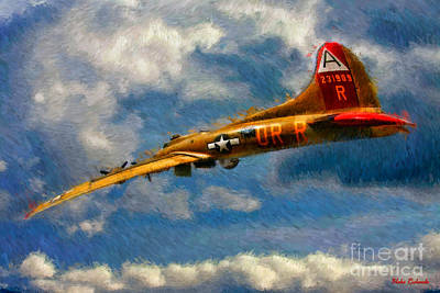 Photograph - 1949 Boeing B-17b Flying Fortress by Blake Richards